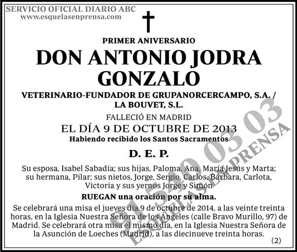 Antonio Jodra Gonzalo